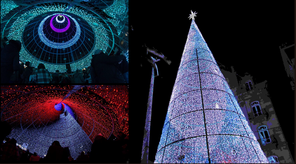 A 60-foot digital Christmas Tree spectacular heads to Southport