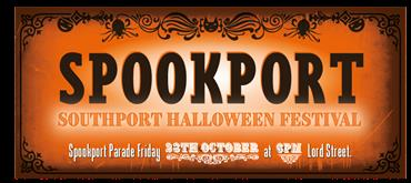 Spookport, Southport's unique Halloween Festival is back for 2016, with more spooky, ghoulish goings on than ever before.    Strange, ghostly and spine tingling events have been going on for  months, and they continue to build as we get closer to All Hallow's Eve  and the spirits come out to...