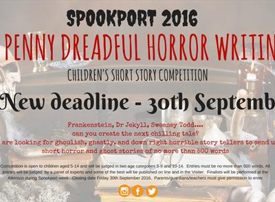 Spookport Short Story Competition