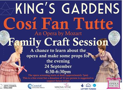 Cosí Fan Tutte - Family Workshop