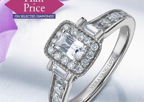 Half Price Diamond Event at Ernest Jones September 2019
