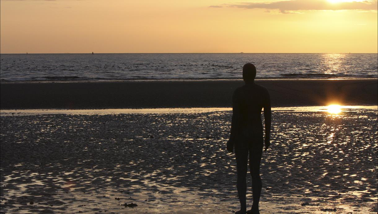 Gormley statues 'Another Place'