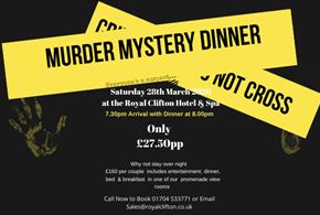 Murder Night at The Royal Clifton Hotel & Spa