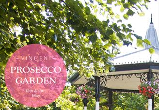The Prosecco Garden at The Vincent